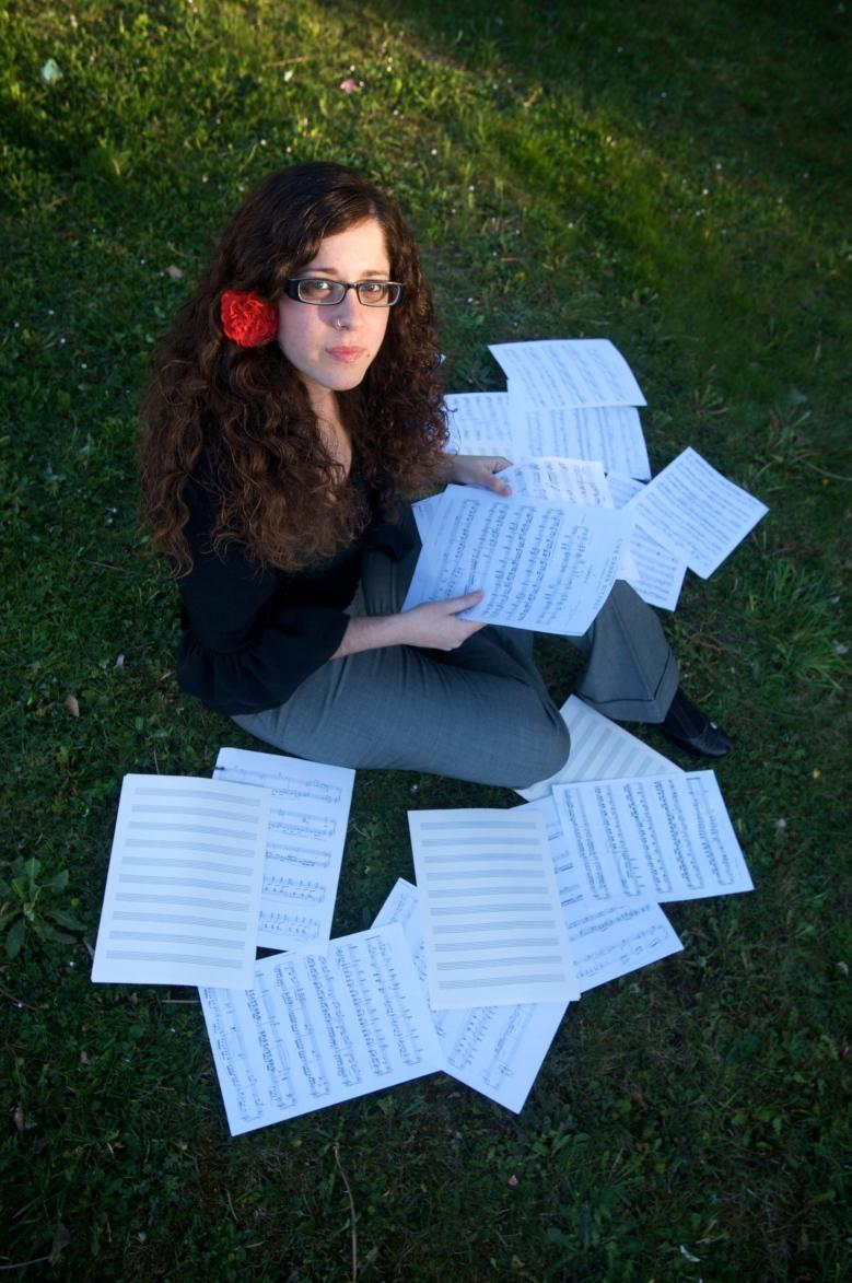 sara varas, pianista profesional. Vitoria, 25-03-2009. Foto Rafa Gutierrez